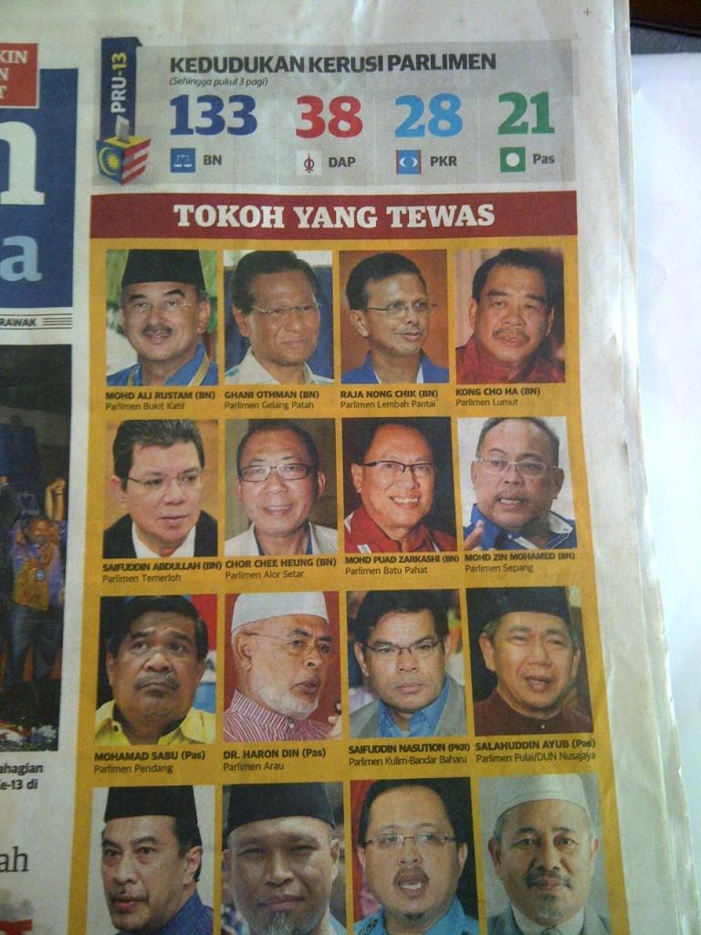 politisi mly tewas
